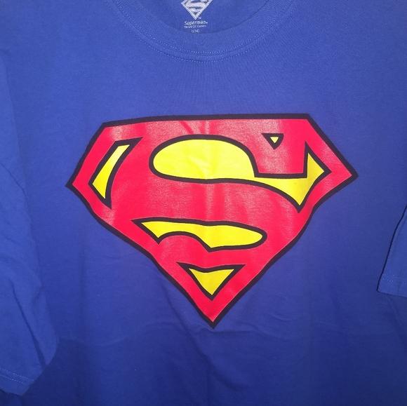 DC Comics Other - SUPERMAN T-SHIRT 👕 Comic Book Superhero Tee Shirt